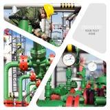 πετρέλαιο βιομηχανίας φ&upsilo Στοκ Εικόνες