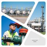 πετρέλαιο βιομηχανίας φ&upsilo Στοκ Φωτογραφίες