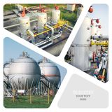 πετρέλαιο βιομηχανίας φ&upsilo Στοκ εικόνες με δικαίωμα ελεύθερης χρήσης