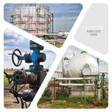 πετρέλαιο βιομηχανίας φ&upsilo Στοκ φωτογραφία με δικαίωμα ελεύθερης χρήσης