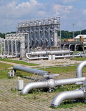 πετρέλαιο βιομηχανίας φ&upsilo Στοκ φωτογραφίες με δικαίωμα ελεύθερης χρήσης