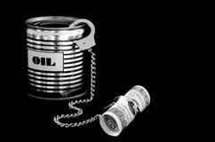 πετρέλαιο δολαρίων Στοκ φωτογραφία με δικαίωμα ελεύθερης χρήσης