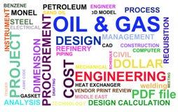 Πετρέλαιο και βιομηχανία φυσικού αερίου ελεύθερη απεικόνιση δικαιώματος