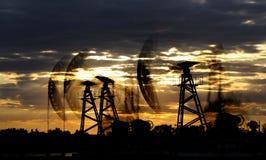 Πετρέλαιο και φυσικό αέριο Στοκ Φωτογραφίες