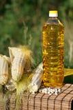πετρέλαιο καλαμποκιού μ& στοκ φωτογραφίες με δικαίωμα ελεύθερης χρήσης
