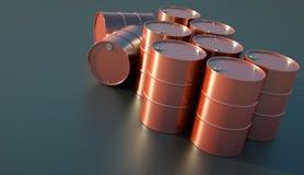 πετρέλαιο τυμπάνων Στοκ Εικόνες