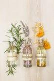 Πετρέλαια μασάζ Aromatherapy Στοκ εικόνα με δικαίωμα ελεύθερης χρήσης