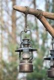πετρέλαιο λαμπτήρων παλα&io Στοκ εικόνα με δικαίωμα ελεύθερης χρήσης