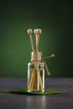 Φύλλο frangipani πετρελαίου αρώματος Aromatherapy Στοκ Εικόνες