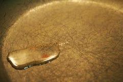 Πετρέλαιο στο τηγάνι Στοκ Εικόνες