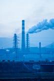 Πετρέλαιο και εργοστάσιο χημικής βιομηχανίας της Κίνας Στοκ Φωτογραφία