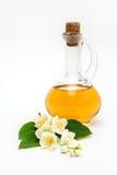 Πετρέλαιο της Jasmine, λουλούδια Στοκ εικόνα με δικαίωμα ελεύθερης χρήσης