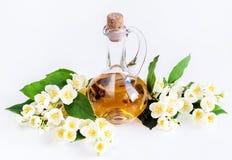 Πετρέλαιο της Jasmine, λουλούδια Στοκ φωτογραφία με δικαίωμα ελεύθερης χρήσης