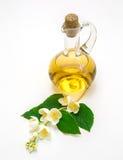 Πετρέλαιο της Jasmine, λουλούδια Στοκ Εικόνες