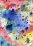 Πετρέλαιο υποβάθρου ακρυλικό, υπόβαθρο σύστασης λεκέδων χρωμάτων για το σκίτσο σκίτσων σχεδίου Στοκ Εικόνα