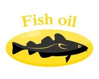 Πετρέλαιο ψαριών απεικόνιση αποθεμάτων
