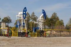 Πετρελαιοφόρος περιοχή στη Σιβηρία στοκ εικόνες με δικαίωμα ελεύθερης χρήσης