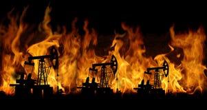 πετρελαιοφόρος περιοχή Στοκ φωτογραφίες με δικαίωμα ελεύθερης χρήσης