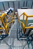 Πετρελαιαγωγός διαδικασίας δομών μορφής πιάτων Στοκ εικόνα με δικαίωμα ελεύθερης χρήσης
