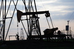 Πετρελαιοπηγή Στοκ φωτογραφία με δικαίωμα ελεύθερης χρήσης