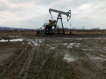 πετρελαιοπηγή pumpjack Ρωσία Σιβηρία πετρελαίου εξαγωγής δυτική Στοκ Εικόνα