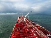 Πετρελαιοφόρο εν πλω στον Ατλαντικό Ωκεανό Στοκ Φωτογραφία