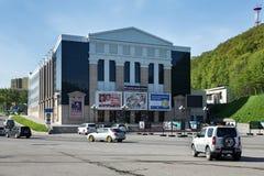 Πετροπαβλόσκ-Kamchatsky πόλη, Kamchatka θέατρο δράματος και κωμωδίας Στοκ φωτογραφία με δικαίωμα ελεύθερης χρήσης