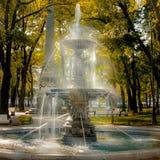 Πετρούπολη Άγιος Πηγή στην πλατεία Rumyantsevsky στοκ εικόνα