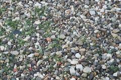 Πετρώδης αποβάθρα από τη λίμνη Στοκ Φωτογραφίες