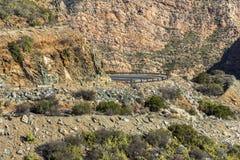 Πετρώδης έρημος Klein Karoo στη Νότια Αφρική Στοκ φωτογραφίες με δικαίωμα ελεύθερης χρήσης