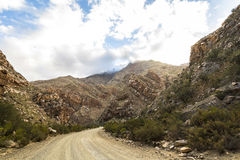 Πετρώδης έρημος Klein Karoo στη Νότια Αφρική Στοκ εικόνες με δικαίωμα ελεύθερης χρήσης