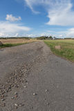 Πετρώδης βρώμικος δρόμος Στοκ φωτογραφίες με δικαίωμα ελεύθερης χρήσης