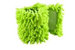 Πετσέτα από το microfiber για μια σφουγγαρίστρα Στοκ Εικόνα