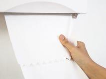 Πετσέτα εγγράφου ιστών Στοκ Εικόνες