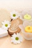 πετσέτα κεριών Στοκ Φωτογραφία