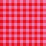 Πετσέτα κουζινών κόκκινη και ρόδινη Στοκ Φωτογραφίες