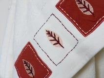πετσέτα λουτρών Στοκ Εικόνα
