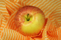 πετσέτα μήλων Στοκ Φωτογραφία