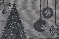 Πετσέτα με το σχέδιο Χριστουγέννων Στοκ Εικόνα