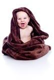 πετσέτα μωρών κάτω Στοκ φωτογραφία με δικαίωμα ελεύθερης χρήσης