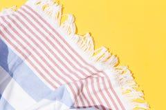 Πετσέτα παραλιών στοκ φωτογραφίες με δικαίωμα ελεύθερης χρήσης