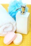 πετσέτα σαπουνιών Στοκ φωτογραφία με δικαίωμα ελεύθερης χρήσης