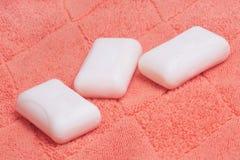 πετσέτα σαπουνιών Στοκ εικόνες με δικαίωμα ελεύθερης χρήσης