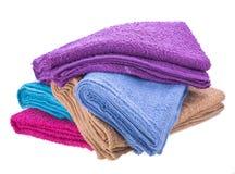 Πετσέτα χρώματος Στοκ Εικόνα