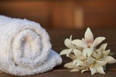 πετσέτα SPA Στοκ εικόνες με δικαίωμα ελεύθερης χρήσης