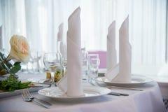 Πετσέτες και μαχαιροπήρουνα Στοκ Φωτογραφία