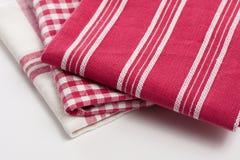 πετσέτες κουζινών Στοκ εικόνα με δικαίωμα ελεύθερης χρήσης