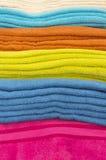 Πετσέτες λουτρών Στοκ Εικόνα