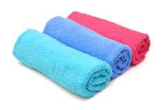 Πετσέτες λουτρών Στοκ φωτογραφία με δικαίωμα ελεύθερης χρήσης