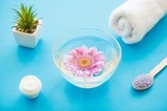πετσέτες πετρών χαβιαριών σωμάτων λουτρών εξαρτημάτων gem milk soap spa E στοκ εικόνα